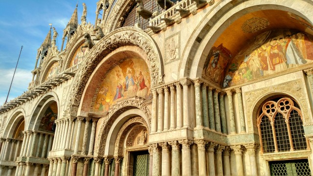 St Mark's Basilica gold venice italy Artwork.jpg