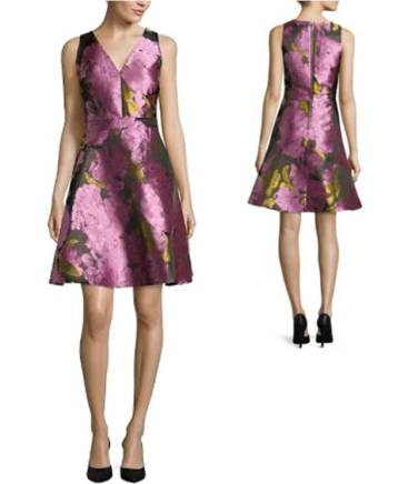 valentines-day-dresses-under-100-sweet-cute-floral-flare-girly-front-and-back-2