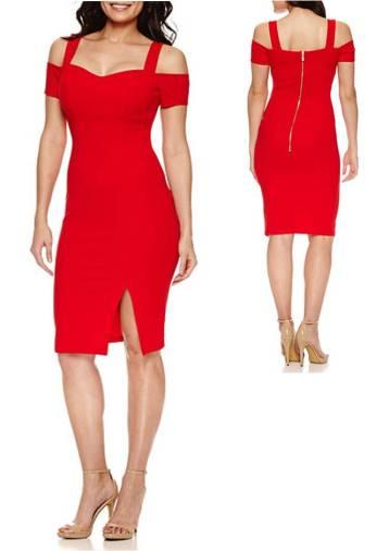 valentines-day-bisou-bisou-cold-shoulder-sweetheart-neck-bodycon-dresses-under-100