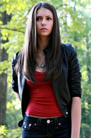 Nina Dobrev Elena The Vampire Diaries Makeup