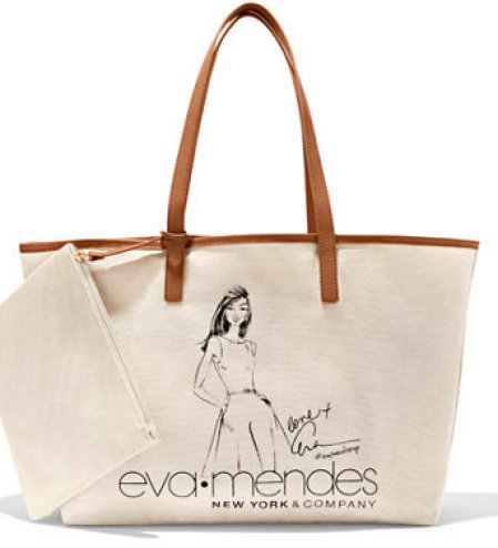 EVA MENDES COLLECTION - ILLUSTRATED TOTE BAG
