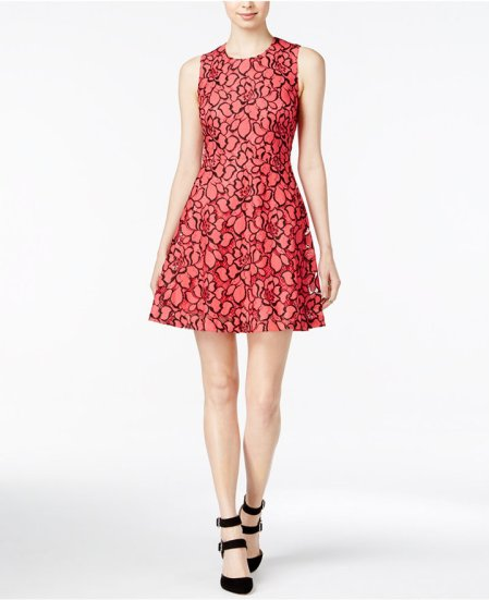 MAISON JULES LACE FIT & FLARE DRESS.jpg